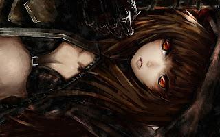 Black Gold Saw Anime Girl HD Wallapper Desktop PC Background 1724