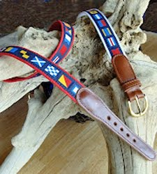 Nautical Belts for Men &amp; Women  at Skipjack