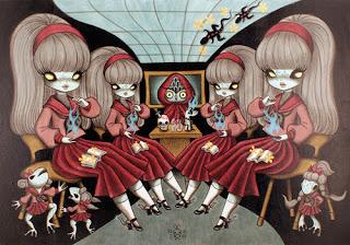 El arte de Junko Mizuno.