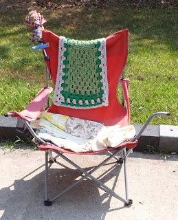 camping chair photo by Dear Miss Mermaid