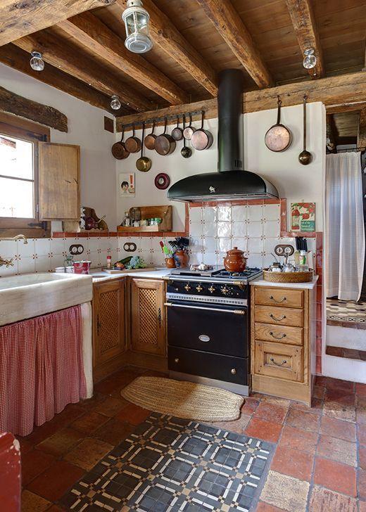 50 rustic soulouposeto for Casas de campo interiores
