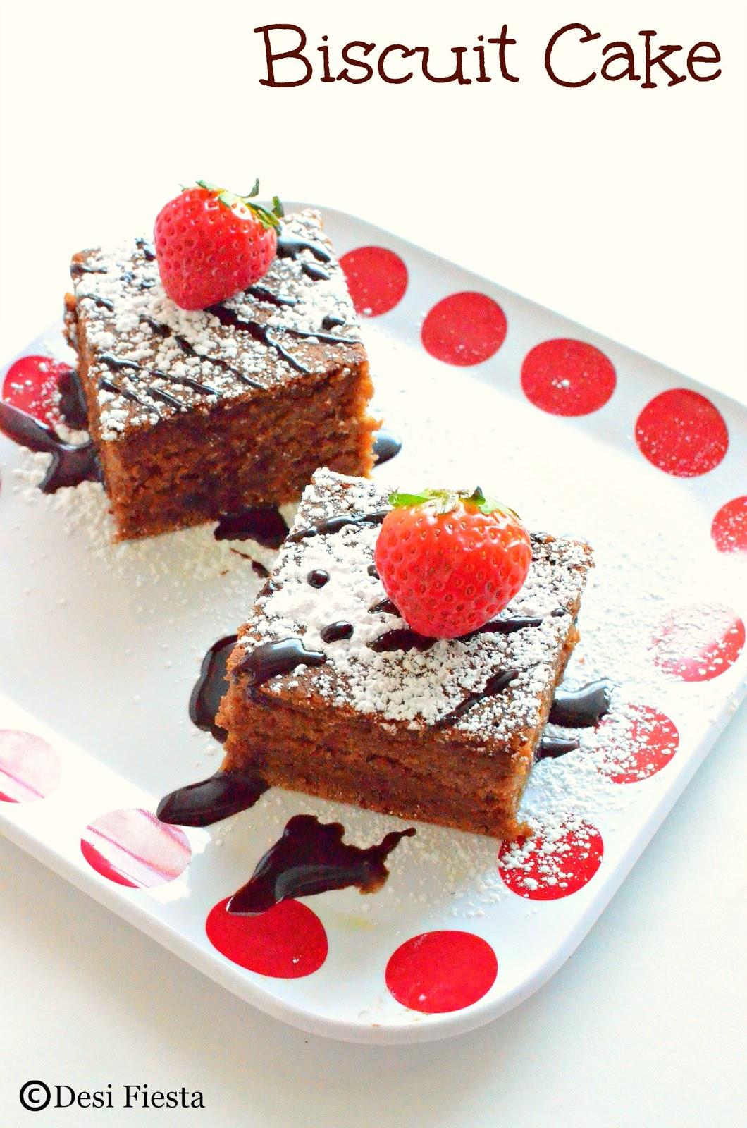 Biscuit Cake Recipes