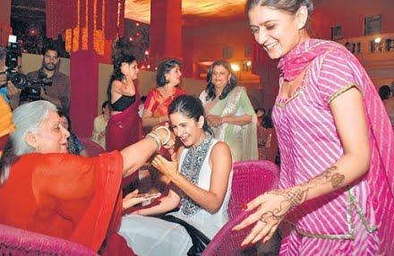 Katrina Kaif Wedding Mehndi