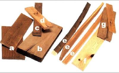 las taras y defectos de la madera saltan a la vista