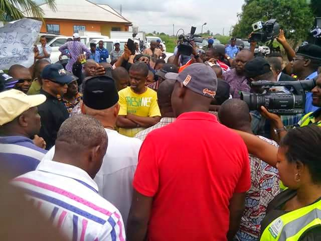 Photos from the mass protest that took place in Akwa-Ibom 5