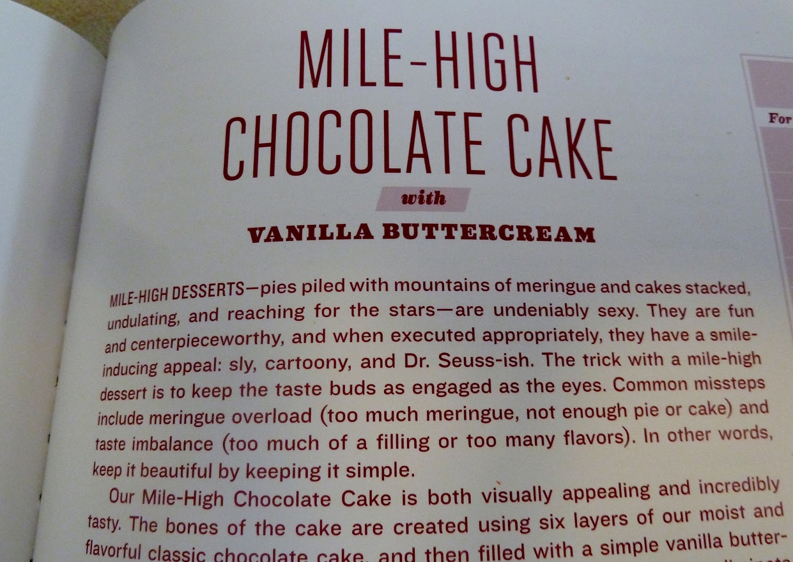 Have Apron....Will Bake: Mile-High Chocolate Cake with ...