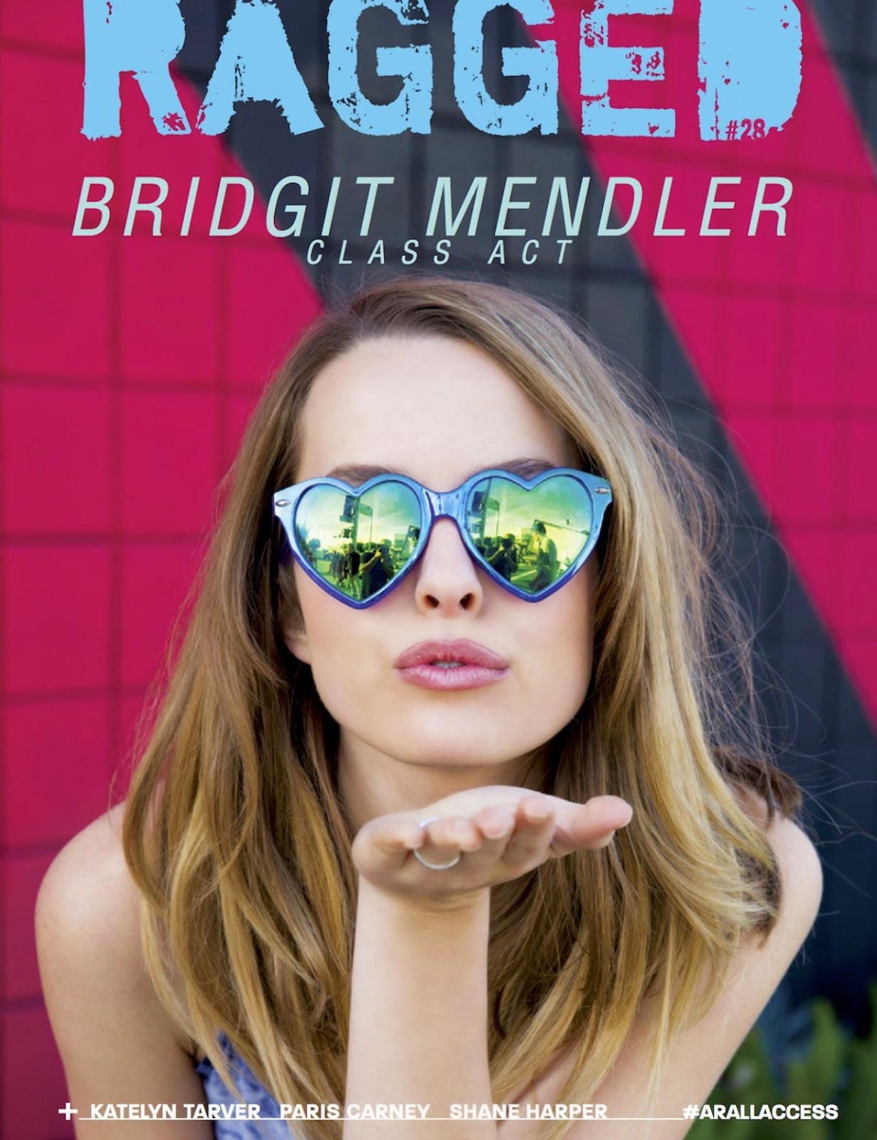 Actress, Singer @ Bridgit Mendler - Ragged Magazine, April 2015