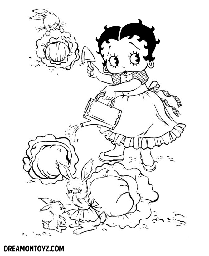 Awesome Betty Boop Angel Coloring Pages Images - Coloring Ideas ...