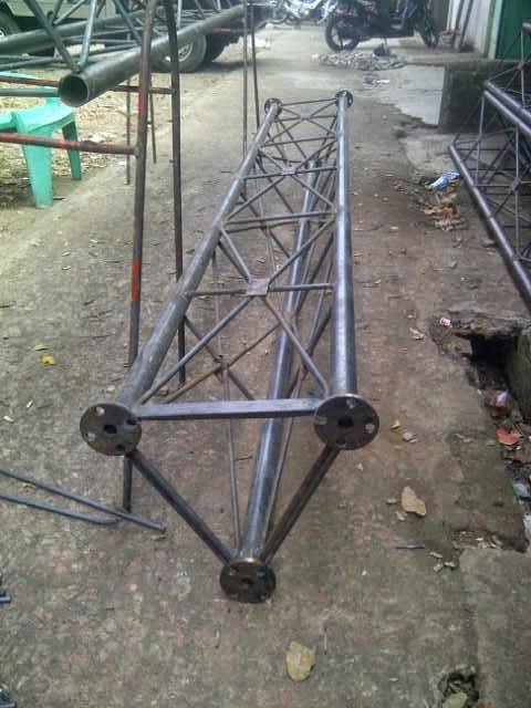 Jual tiang monopole triangle Murah Harga Pabrik. distributor pagar brc. Hot Dip Galvanis dan Elektroplating