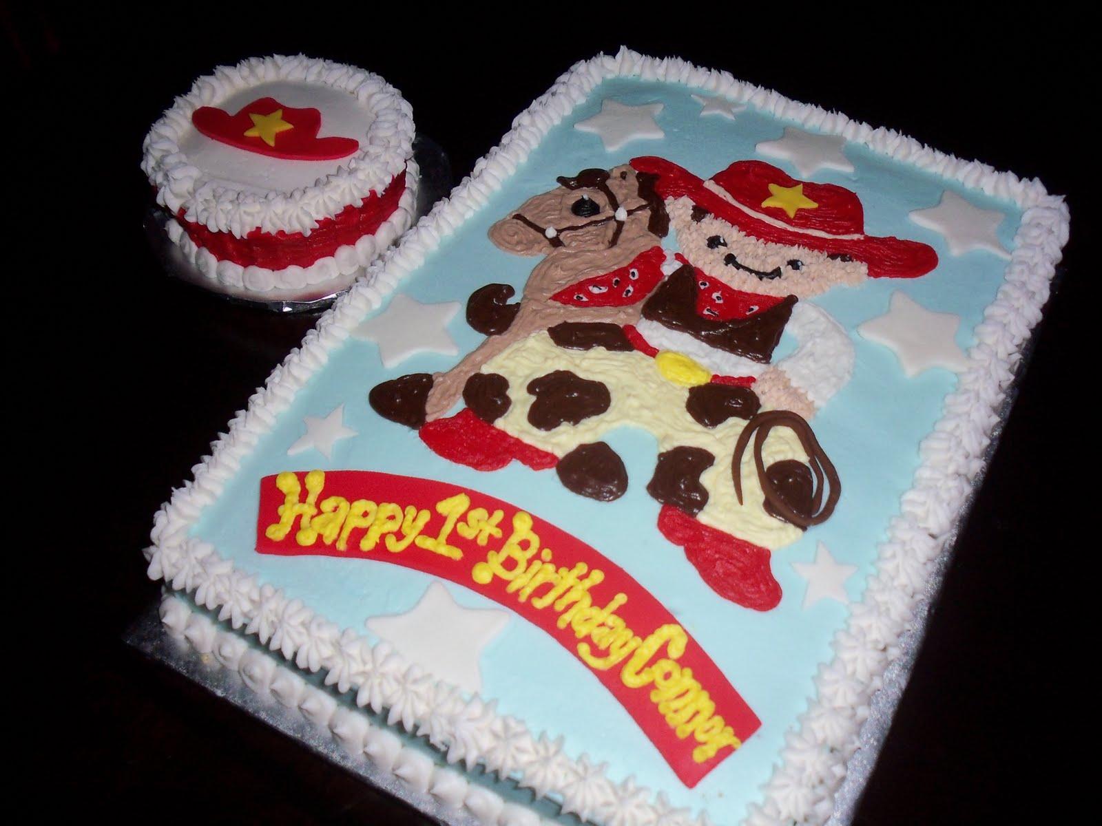Sweet Treats By Susan Little Cowboy 1st Birthday Cake
