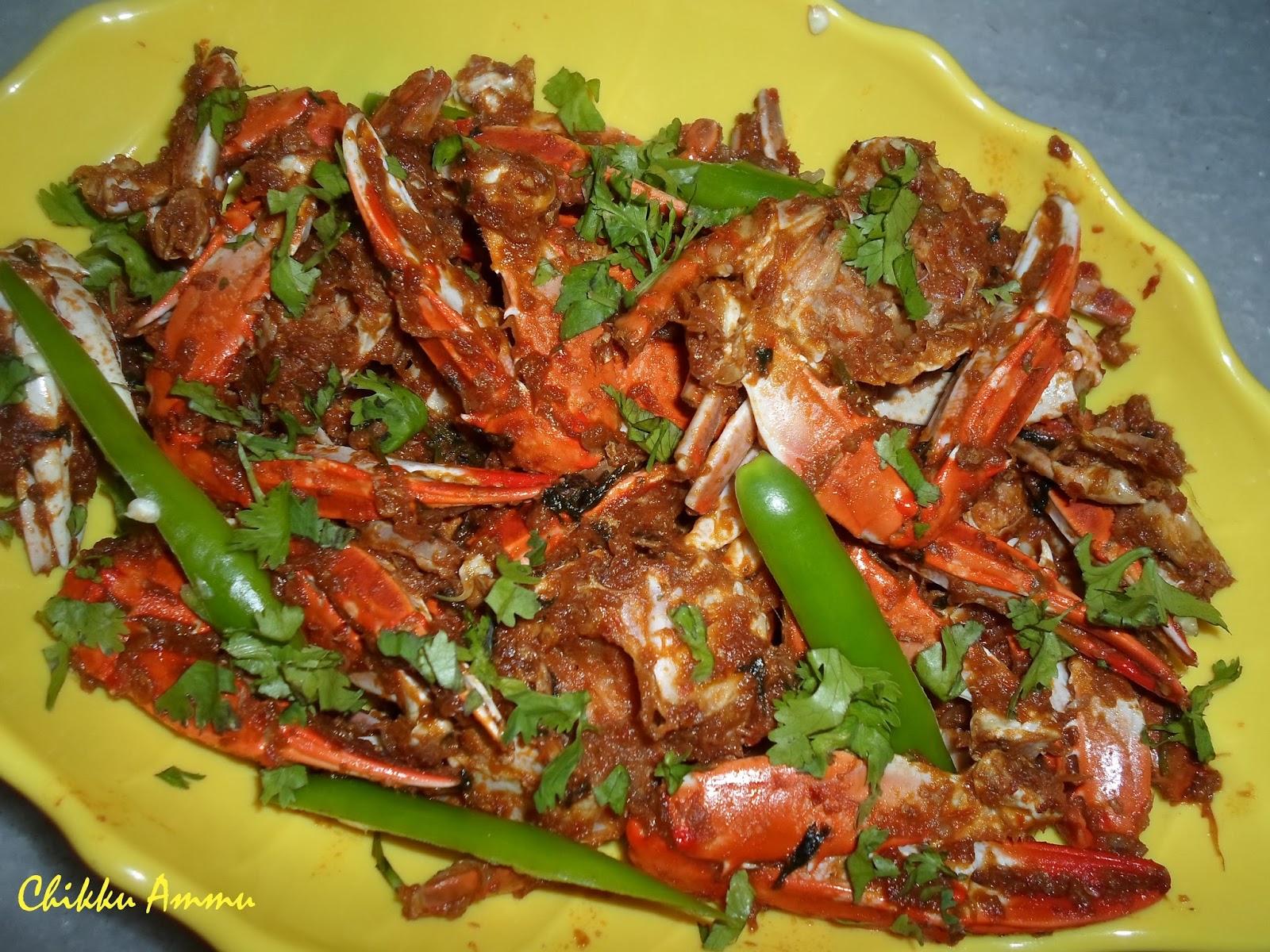 Non vegetarian chikkuskitchen chilli crab forumfinder Choice Image
