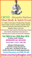Mind, Body and Spirit event in Crewe