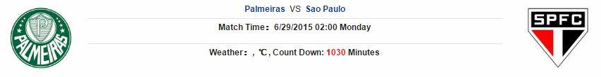 Soi kèo dự đoán Palmerias vs Sao Paulo
