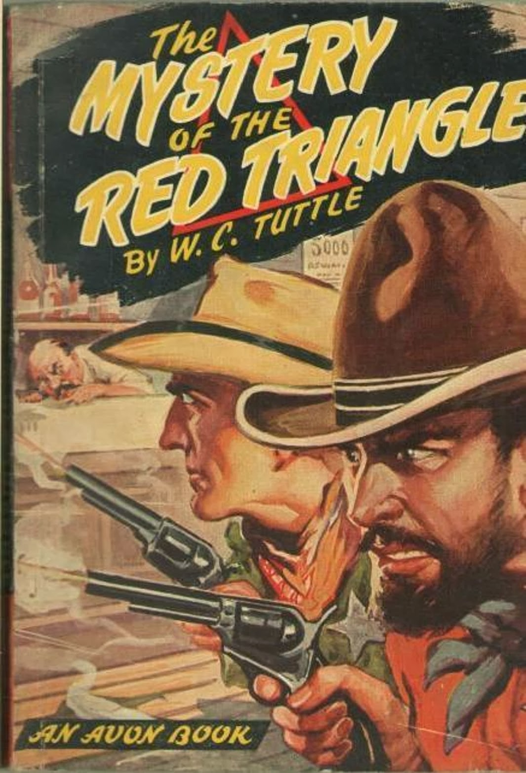 As Usual In These Novels, Author Wc Tuttle Spends The First Quarter Of  The Book Setting