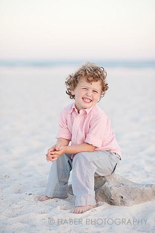 Kids Beach Portrait Session