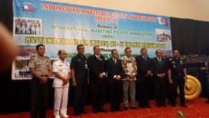 Menghadiri Mubes ke IV Indonesian Maritime Pilot's Association (INAMPA) Thn 2018