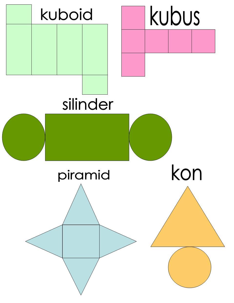 Ruang & Bentuk: Bentangan 3 dimensi
