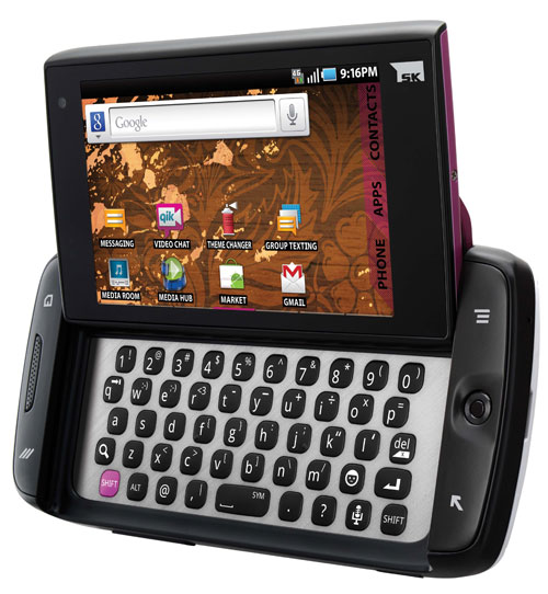 the new sidekick 4g. new sidekick 4g android phone.
