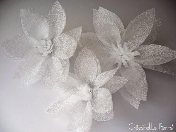 Créastelle Party fleur en mousse