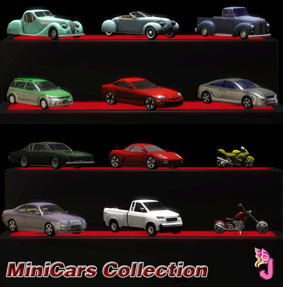My Sims 3 Blog: MiniCars Collection by Juliana