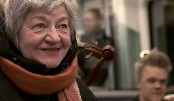 música clássica no metro de Copenhaga
