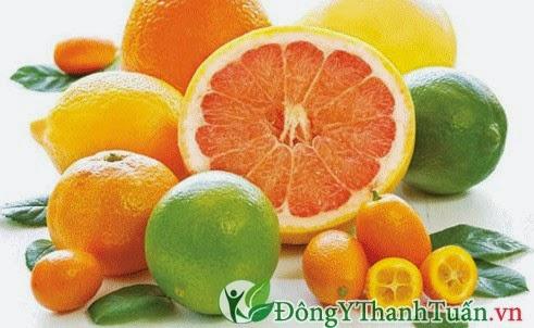 Trái cây giàu vitamin C chữa bệnh hôi miệng rất hiệu quả