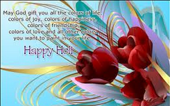 Greetings for Holi