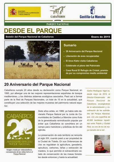 http://www.visitacabaneros.es/201501_Boletin%20PN%20Caba%C3%B1eros.pdf