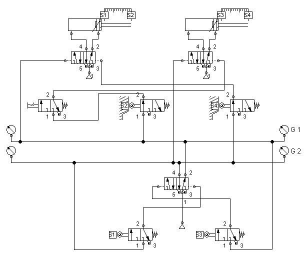 Circuito Neumatico Basico : Ingeniería electrónica víctor calderón circuitos