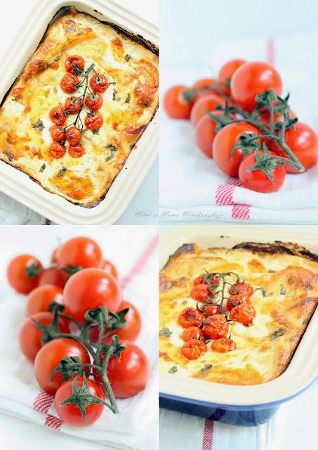 Spárgás pestos besamel mártásos lasagne