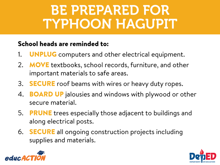 Be Prepared for Typhoon Hagupit
