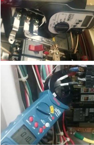 テナント分電盤漏れ電流_主幹のみ毎月推奨<br>変圧器LGR警報の原因はまずここ!