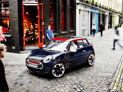 Mini Cooper Concept Design on Street HD Car Wallpaper
