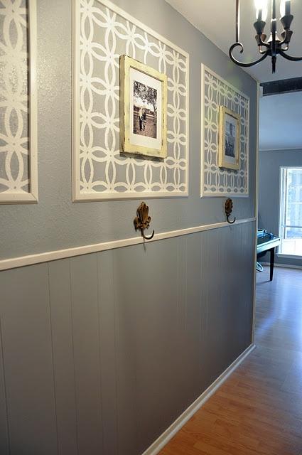 poner un friso a lo largo del pasillo es una solucin tradicional que se sigue utilizando muchisimo porque el efecto esta asegurado adaptando el friso a