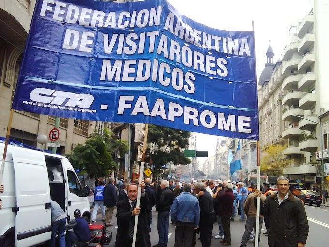 Los Visitadores Medicos vamos al PARO el 29 de Mayo