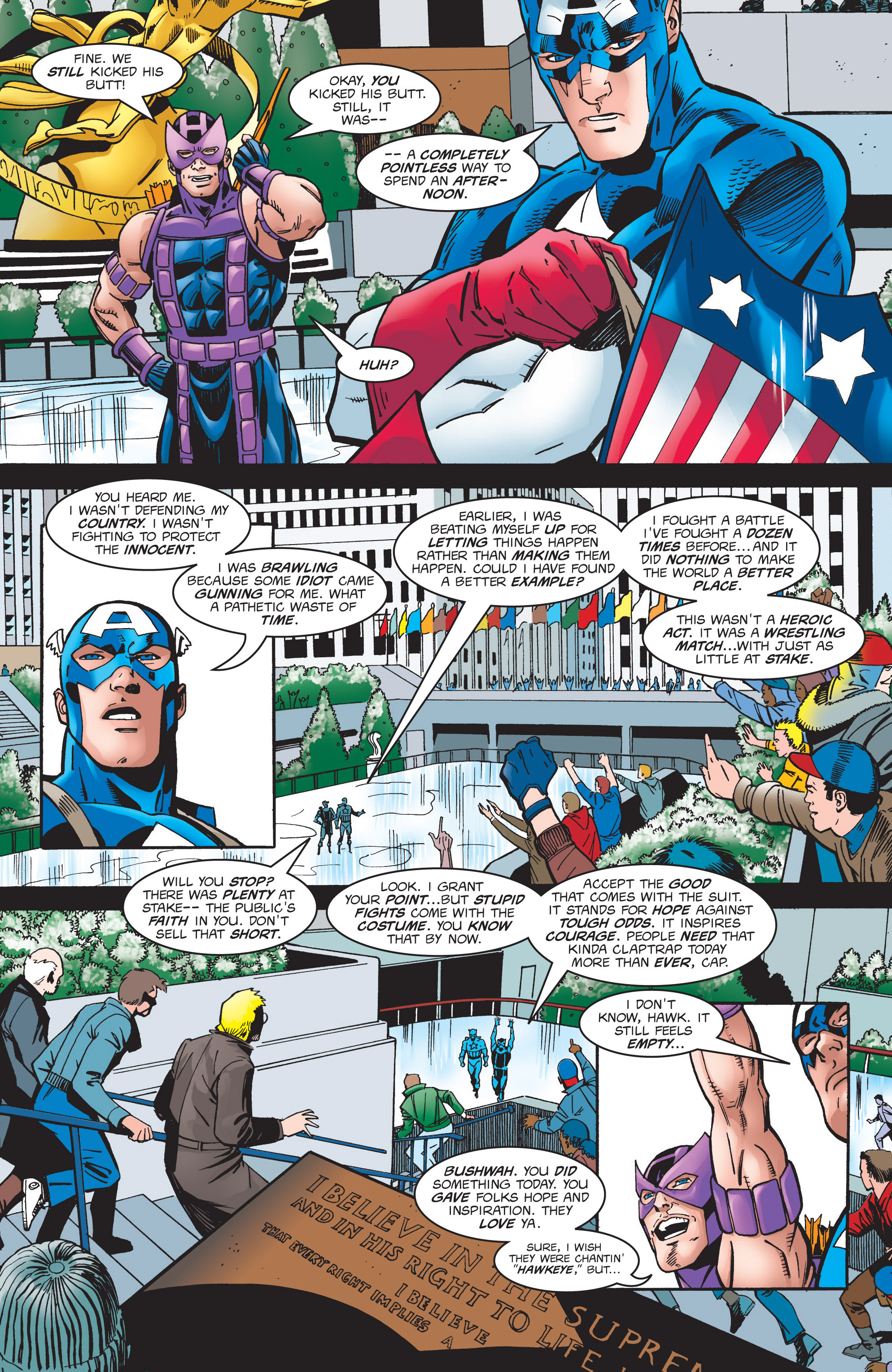 Captain America (1998) Issue #4 #7 - English 22