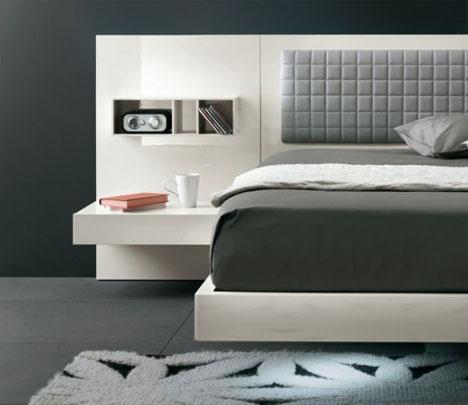 Cabeceira de cama quadrados blog de decora o casa for Casa moderna black walnut luxury vinyl plank