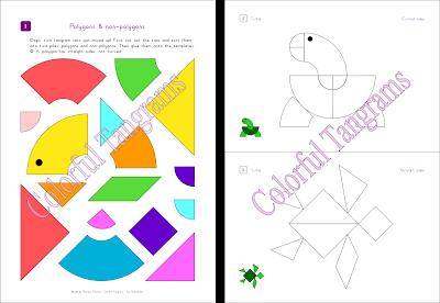Tangram; plane; shapes; 2D; parrot; turtle; horse; swan; duck; fish