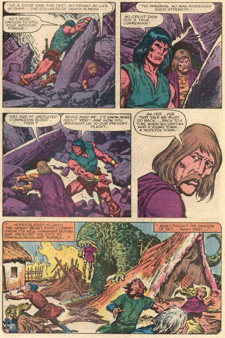 Conan the Barbarian (1970) Issue #144 #156 - English 7