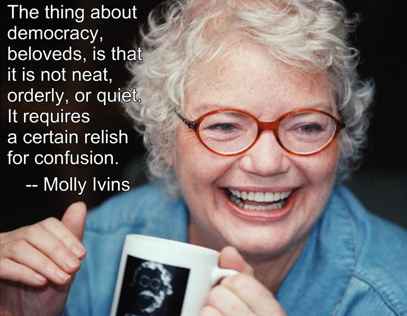 Happy Birthday, Molly Ivins