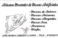 Artesano Montador de Moscas Asturiano