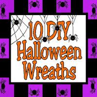 10 DIY Halloween Wreaths