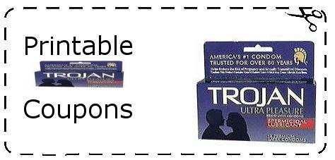 Trojan condom coupons