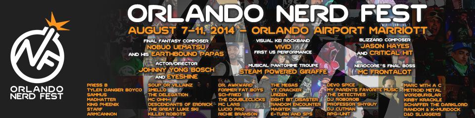Get Nerdy with Me!  Nerd Fest Orlando 2014