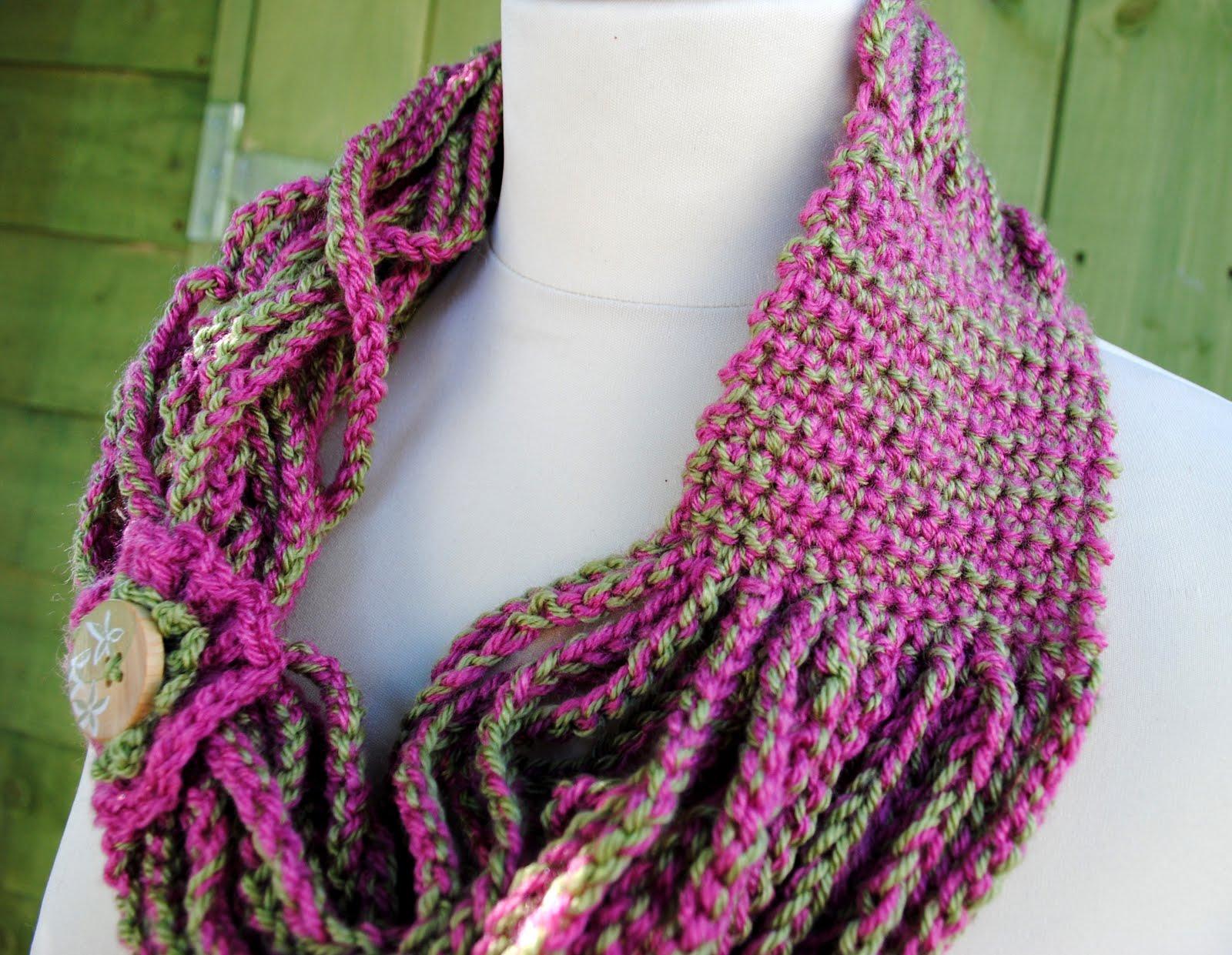 how to crochet scarf crochet club