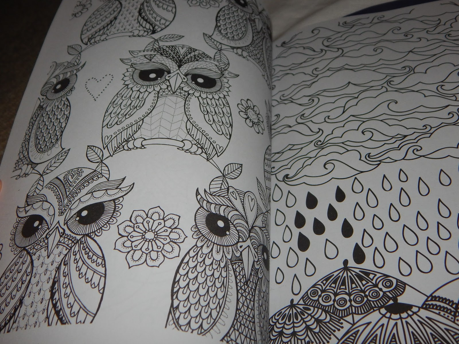 The Final Item Was A Colouring Book I Received Cant Sleep Have Enjoyed Having To Use My Creativity Create Colour