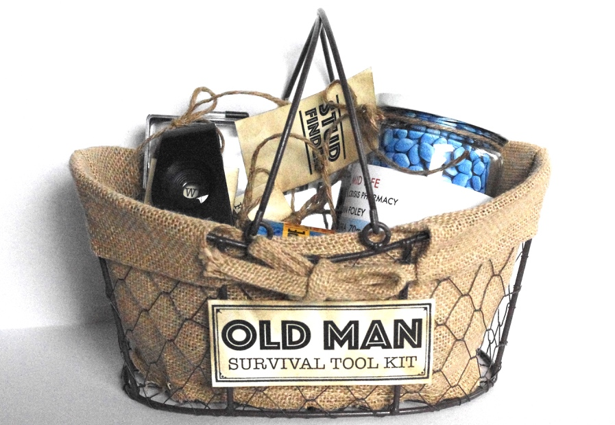 Creative Try Als Old Man Survival Tool Kit