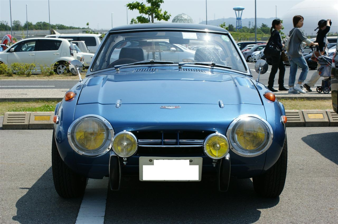 149. Japońskie klasyki #03: Toyota Sports 800 (UP15). staryjaponiec blog トヨタ スポーツカー クラシックカー