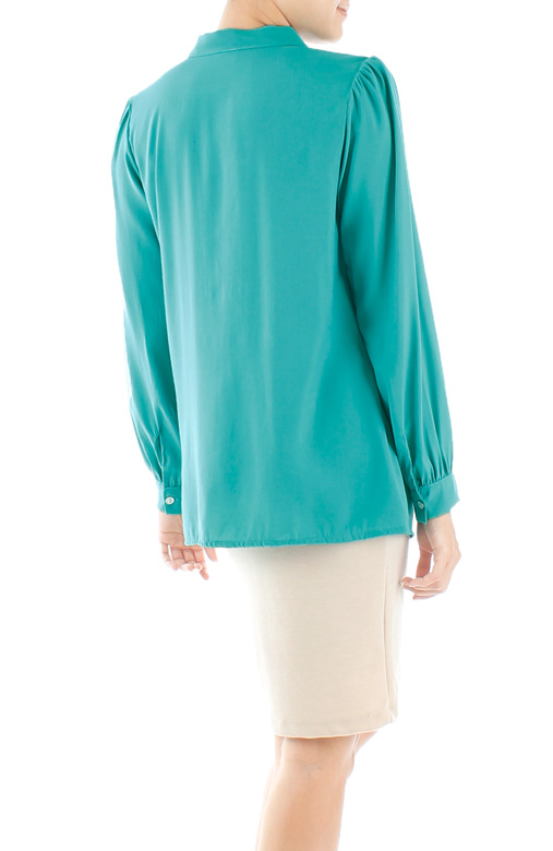 Love Bow Long Sleeve Blouse