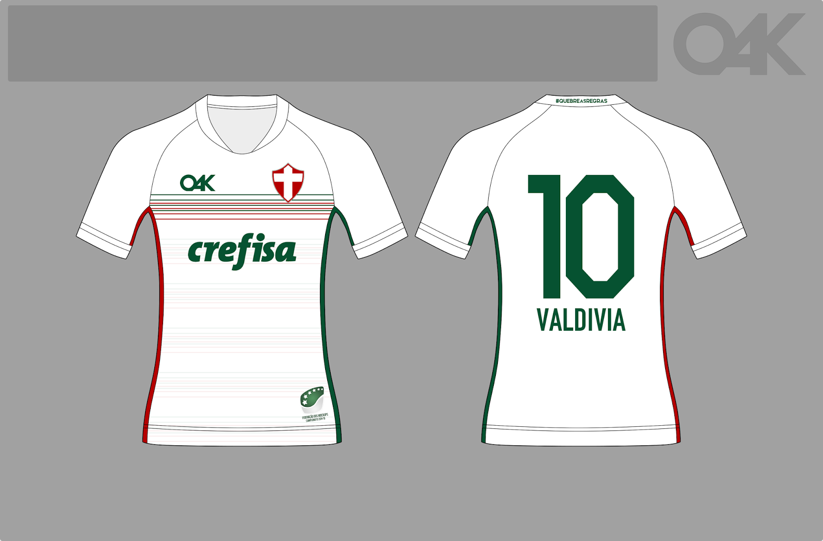 3e2cb1c16f Campeonato de Mockups Camisetas de Futebol  68º Campeonato de ...